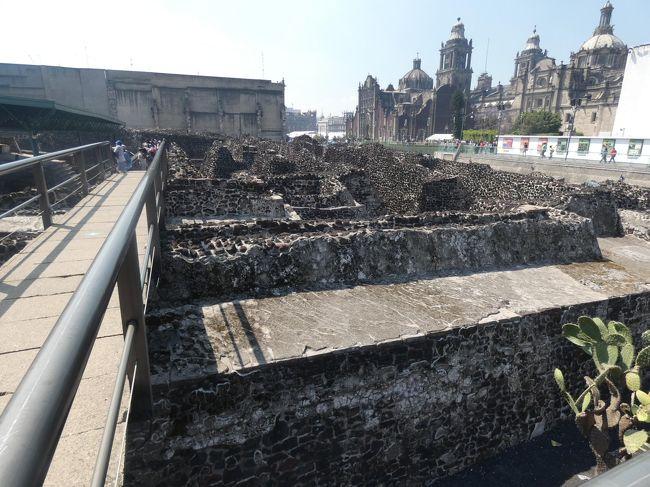 『メキシコシティ テンプロマヨール(Museo del Templo Mayor, Mexico City ...