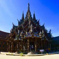 なんじゃ~こりゃぁ!?、タイのサグラダ..いやモンサン..か、その名もThe Sanctuary of Truth(パタヤ/タイランド)#1