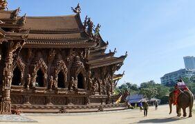 なんじゃ〜こりゃぁ!?、タイのサグラダ..いやモンサン..か、その名もThe Sanctuary of Truth(パタヤ/タイランド)#2