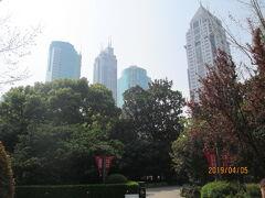 上海の准海公園・2019年春