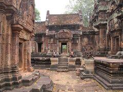 ANAビジネスクラス直行便で行くカンボジア7 タ プローム寺院とバンテアイ スレイ