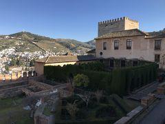 アルハンブラ宮殿の下見