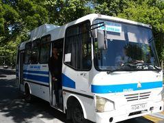 4、73番バスでレギスタン広場往復。