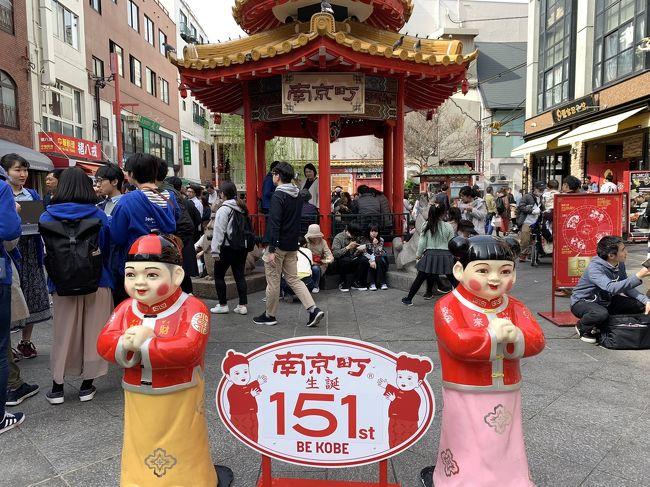 3日間ともホテルステイがメインの旅となりましたが、2日目は少しだけ神戸観光にも出かけました。生田神社の桜もまだ残っていてとても綺麗でしたし、初めて行った南京町での食べ歩きも楽しかったです。そして、ランチの神戸牛は絶品でした!