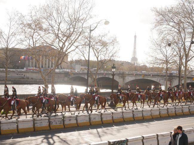 2019_3月 Paris 母娘2人旅(3)2日目-2 オランジュリー美術館からマドレーヌ広場