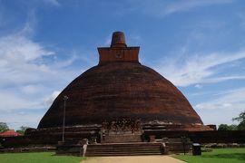 2019年4月21日ポロンナルワ、アヌーラダプラ旅行 北部アヌーラダプラ遺跡見学とインドへの帰国編