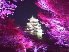 青春18きっぷの旅 2019年春 平成最後の桜を求めて [3] ~兵庫、姫路城 夜桜会~