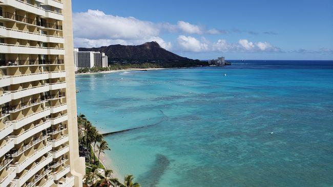 3世代ハワイ①成田初ハワイアン航空~シェラトンワイキキへ