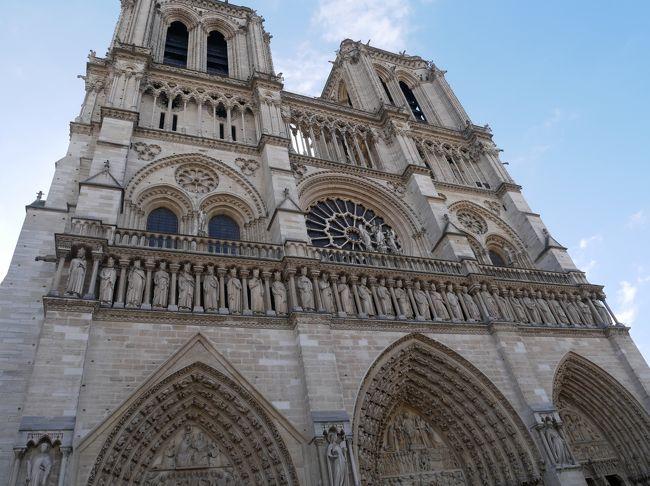 2019_3月 Paris 母娘2人旅(5)3日目-2 ノートルダム大聖堂