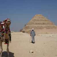 エジプト旅行⑩(メンフィス・サッカラ・ダハシュール:階段ピラミッド、屈折ピラミッド、赤ピラミッド他)