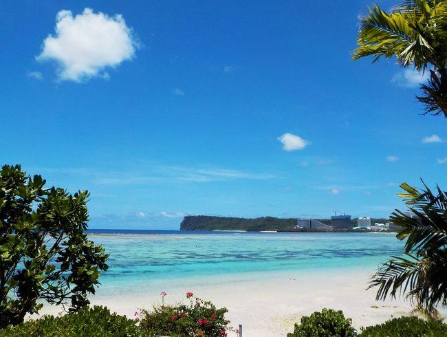 グアムなら… オプショナルツアーに参加しなくても、ホテルの前のビーチで素敵な海中散歩ができる(*^▽^*)<br />ホテルのお部屋はビーチからすぐ。だから…<br />ビーチ・プール⇒ショッピングモール⇒ビーチ・プール⇒サンセット⇒ショッピングモール<br />こんな風に過ごしてもラクラク移動(^^)/ レンタカー無しでOK!<br /><br />お手軽シュノーケリングで楽しめる、海中の様子を ご紹介♪<br /><br />LCC 成田⇔グアム の復路の様子も…<br /><br />【往路】7C1182便 成田空港発10:05⇒グアム着15:00<br />【復路】7C1189便  グアム発  16:10⇒成田空港着19:00<br />【宿泊】パシフィックスター リゾート&amp;スパ(12F恋人岬側のお部屋)<br />