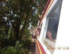 amazing THAILAND! (17)タムカセー駅からタキレーン鉄橋駅まで泰緬鉄道に乗車・・・
