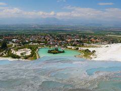 エーゲ海地方で温泉・遺跡・海の旅 Part 1~純白のパムッカレ&褐色のカラハユットで温泉編~