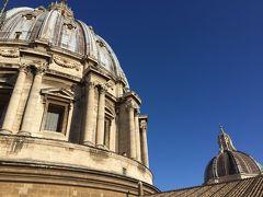 12泊13日ローマ、フィレンツェ、 ミラノの旅(^-^) その2【ローマ: サン・ピエトロ大聖堂編】