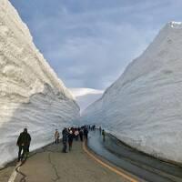 室堂で「雪の大谷」を散策するためにホテル立山へ