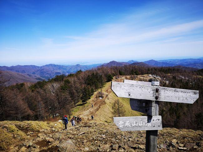 今年のGWはなんと10連休!ドーンと海外にでも行きたいところだけれど、息子のスケジュールに合わせると最大2日の連休しかとれない。(ガーン…)って訳で今回も山へ!!この時期雪が無くて1泊で戻れるところ。白羽の矢が立ったのは東京都の最高峰雲取山。日本百名山でもある雲取山、結構体力のいる山だった。<br /><br /><br />