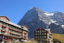 スイス6日目④クライネシャイデックからラウターブルンネンへ下山、チューリッヒへ