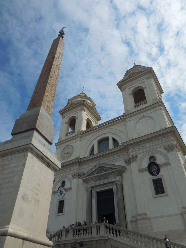ボルゲーゼ美術館、ドーリア・パン・フィーリ美術館といくつかの教会を回りました。