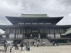 北米へ行く前に 成田山新勝寺と酒々井アウトレットへ