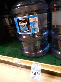 ハワイウォーター:ビックアイランド  スーパーマーケット