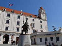 スロバキア旅行−3:ブラチスラバ(小さい旧市街で大勢の観光客)