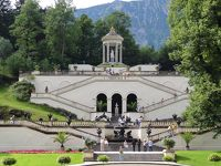ミュンヘンを拠点に南ドイツ(少しオーストリア)を巡る旅【1】リンダーホーフ城→ノイシュバンシュタイン城