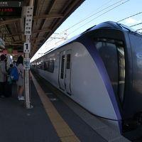 初のオフ会参戦で長野へ。【第3部】ワンポイントリリーフ的な特急乗り継ぎ旅で小淵沢へ。