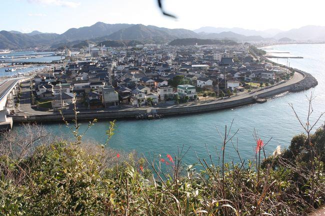 島根・山口旅行記2018年冬(11)青海大橋と仙崎散策編