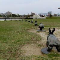 ~島根県立美術館~12羽のうさぎさんに会いに行きました♪ 出雲路へ
