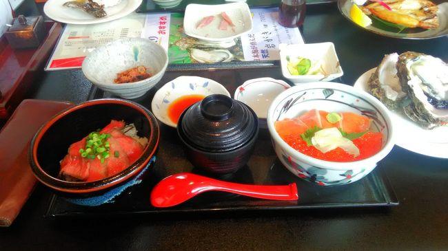 北海道旅行記を一旦お休みを頂き平成最後の日の4月30日に日帰り旅行を決行しました。<br /><br />会社の後輩が新車を購入したのでちょっとだけ遠出しようと言う事でしたので新潟県は村上市の方へ海鮮丼を食べに行ことになりました!