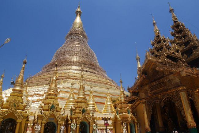【3日目 4日目] タクシーチャーターでヤンゴン観光を満喫したよ。