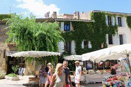 南仏の美しい村とラヴェンダー畑を巡る旅(9)『フランスの最も美しい村』ルールマランはカミュが愛した村☆Lourmarin