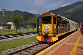 2019年春韓国鉄道旅行8(アウラジ駅⇔九切里往復)