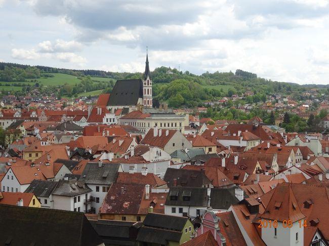 その2はドレスデンからプラハに移動しプラハ城やカレル橋・旧市街地の観光をし、チェスキークルムロフの観光をします。チェスキークルムロフは中世の雰囲気を残す町並みが魅了してくれます。