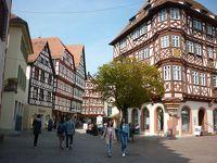 ドイツ木組みの家を訪ねて 町から町へ バート・ヴィンプフェン、モースバッハ、ネッカーズルム