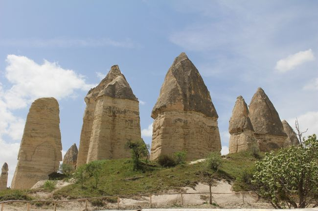 トルコの見どころを網羅する混載ツアーに参加。カッパドキアの熱気球は風が吹き催行されなかったのが残念だったが、西岸のローマ時代の遺跡、パムッカレ、カッパドキアの奇岩群は期待通り素晴らしかった。[ツアー会社:ターキッシュエアアンドトラベル]