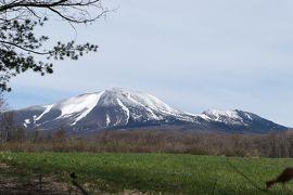 春の軽井沢♪ Vol.1:北軽井沢 残雪輝く浅間山♪