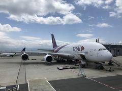 タイ&シンガポールの旅① タイ航空ファーストクラス搭乗編 アメニティはリモワじゃなくなりました 泣