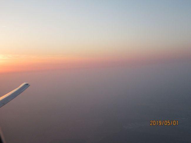 2019ヨーロッパひとり旅 JALファーストクラスでパリから帰国