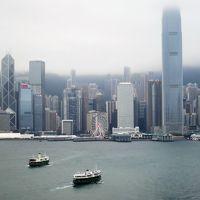朝粥食べて、アベニュー・オブ・スターズそぞろ歩き/トラムのラッピングいろいろ♪ マカオ・香港の旅6