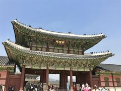韓国  初ひとり旅(1)景福宮周辺