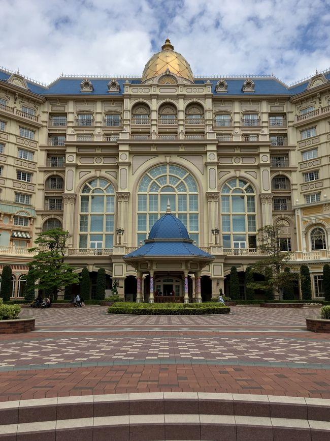 初めてランドホテルに泊まりました。<br />不思議の国のアリスルーム★<br /><br />