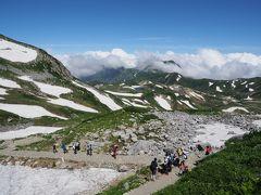 立山黒部アルペンルート1泊2日:雄山(3003m)登山、下山して氷見へ移動