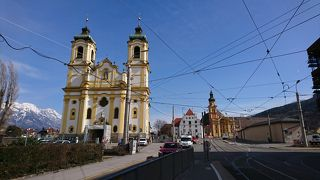 2019年3月、インスブルック、ウィーンの旅(8) インスブルックの二つの教会