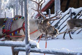 フィンランドのオーロラを求めて(3日目 サンタクロース村へ)
