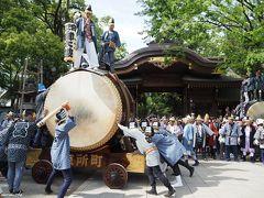 平成から令和に跨る大國魂神社くらやみ祭