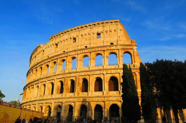 イタリアの旅2日目【ローマ編】<br />ローマに到着してからの2日目~<br />古代遺跡と長蛇の列に愕然!<br />予約できていないことに<br />気づいていない自分に唖然!<br />これからの旅程を<br />暗示しているのか。。。!?<br /><br />-----------------------------------------<br /><br />ご覧いただきありがとうございます。<br />旅とネコを愛するゆーぢよと申します。<br /><br />★旅先★<br />イタリア:ローマ、オルヴィエート、<br />チヴィタ・ディ・バーニョレージョ、<br />シエナ、ピエンツァ<br /><br />★旅の目的★<br />オルチャ渓谷満喫!&amp;他の街をチラ見<br /><br />★目的地までの手段★<br />飛行機:チェジュ航空、エティハド航空<br /><br />★ゆーぢよ構成員★<br />オットゆんゅ(´・ω・`)<br />ツマちっち(・∀・)<br /><br />-----------------------------------------