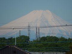 素晴らしい富士山が見られました
