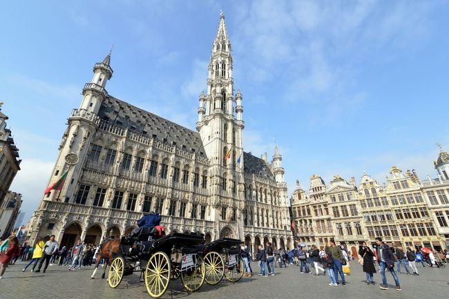 ブリュッセル街歩き