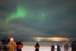 フィンランドのオーロラを求めて(3日目 ロヴァニエミ散策とサーリセルカでのオーロラツアー)